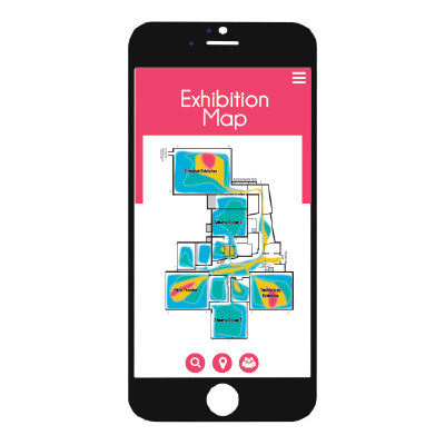 Venu-IQ lets you avoid the crowds at exhibitions with our heat map