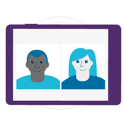Virutal-Events-Video-Meetings-Illustration